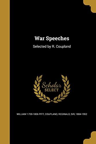 9781371129934: War Speeches