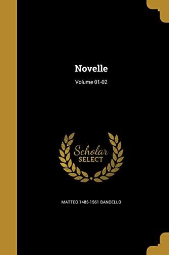 9781371172022: Novelle; Volume 01-02