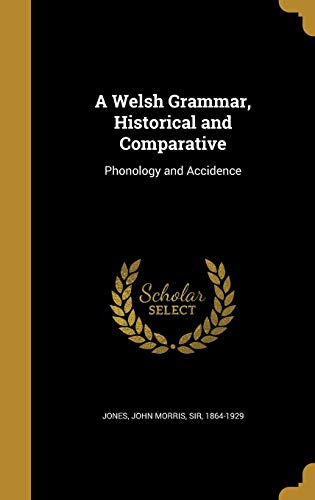 9781371233907: A Welsh Grammar, Historical and Comparative: Phonology and Accidence