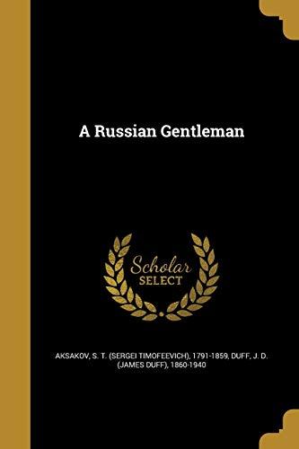 9781371528744: A Russian Gentleman