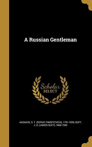 9781371528799: A Russian Gentleman