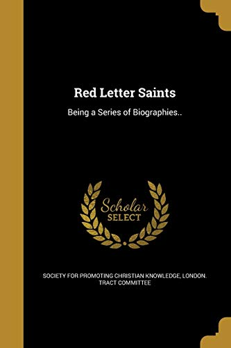 Red Letter Saints (Paperback)
