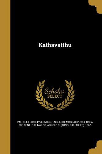 Kathavatthu (Paperback)