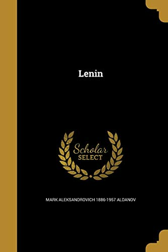 Lenin (Paperback): Mark Aleksandrovich 1886-1957
