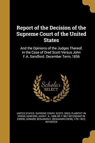 Report of the Decision of the Supreme