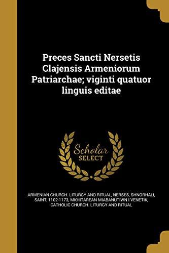 Preces Sancti Nersetis Clajensis Armeniorum Patriarchae; Viginti