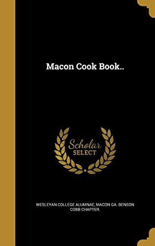 Macon Cook Book.