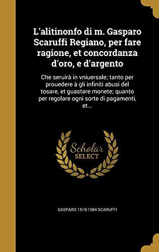 L'Alitinonfo Di M. Gasparo Scaruffi Regiano, Per