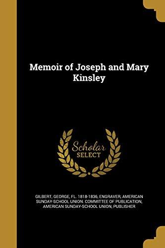 9781374427976: Memoir of Joseph and Mary Kinsley