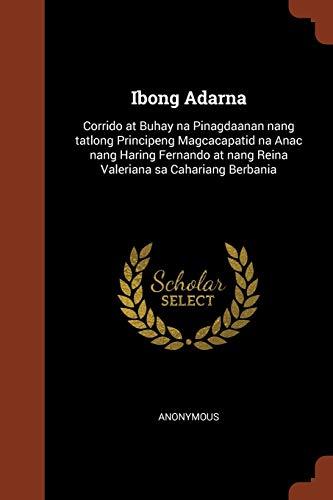 Ibong Adarna: Corrido at Buhay Na Pinagdaanan: Anonymous