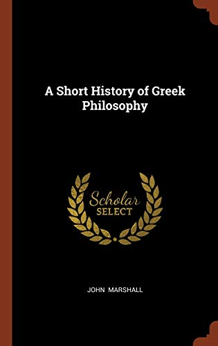 9781374993471: A Short History of Greek Philosophy