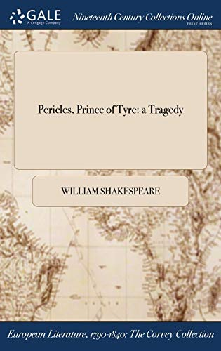 9781375035712: Pericles, Prince of Tyre: a Tragedy