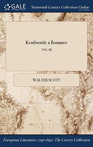 9781375328074: Kenilworth: a Romance; VOL. III