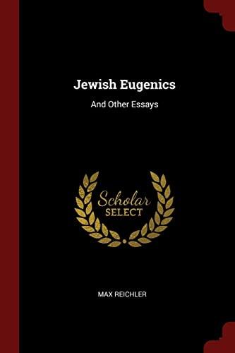 9781375414968: Jewish Eugenics: And Other Essays