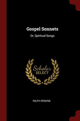 9781375462693: Gospel Sonnets: Or, Spiritual Songs