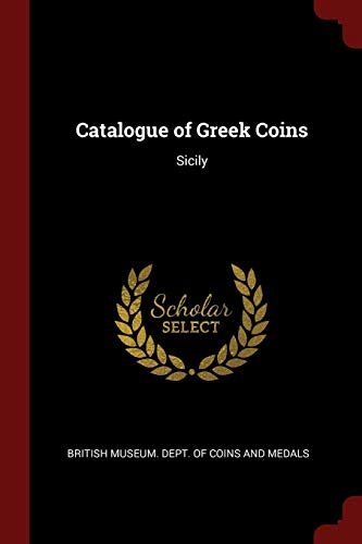9781375478434: Catalogue of Greek Coins: Sicily