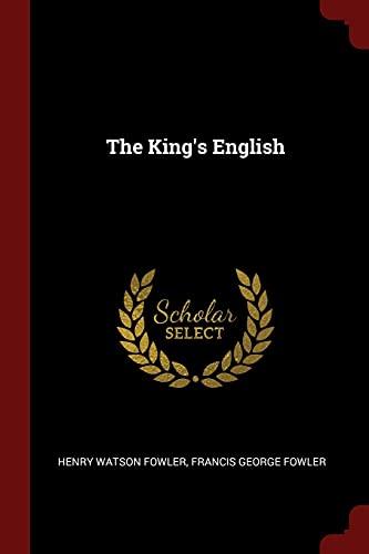 9781375493499: The King's English