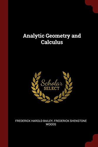 9781375503105: Analytic Geometry and Calculus