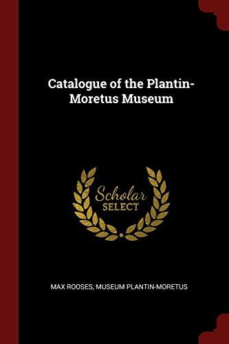 9781375592819: Catalogue of the Plantin-Moretus Museum