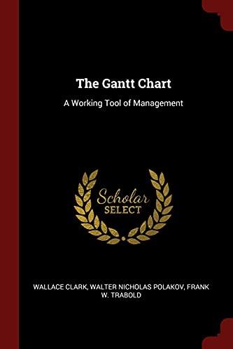 The Gantt Chart: A Working Tool of: Clark, Wallace