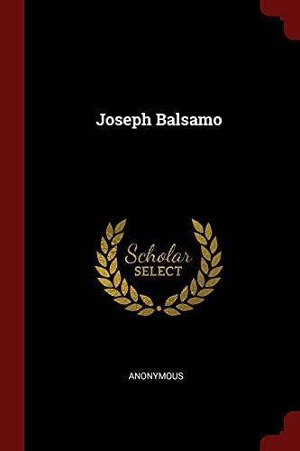 9781375632430: Joseph Balsamo
