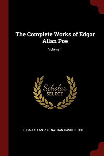 9781375746823: The Complete Works of Edgar Allan Poe; Volume 1