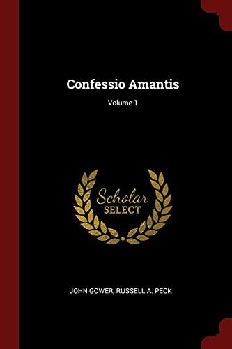 9781375777520: Confessio Amantis; Volume 1