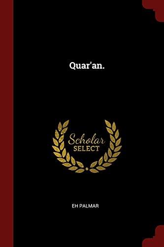 9781375806978: Quar'an.