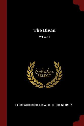 9781375989329: The Divan; Volume 1