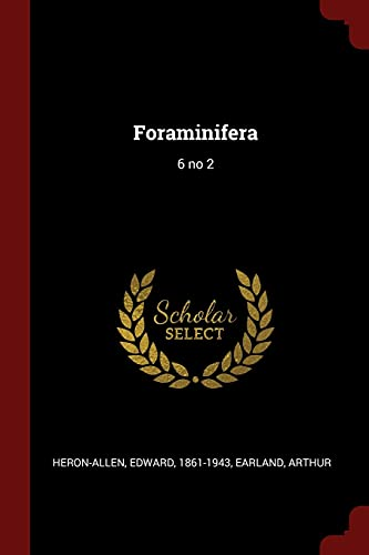 9781376003819: Foraminifera: 6 no 2