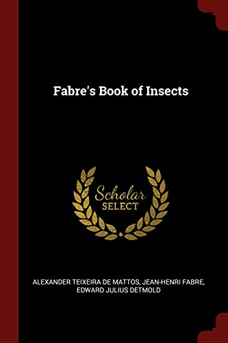Fabre's Book of Insects (Paperback): Alexander Teixeira De