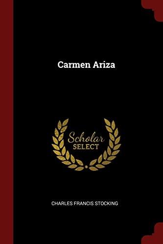 9781376055153: Carmen Ariza
