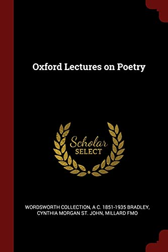 9781376056839: Oxford Lectures on Poetry