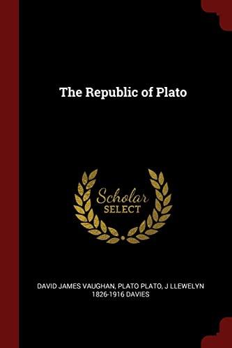 The Republic of Plato (Paperback): David James Vaughan,