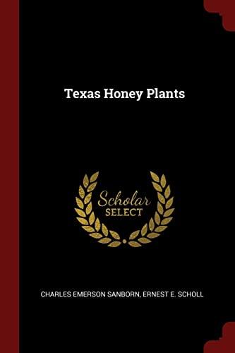 9781376071481: Texas Honey Plants