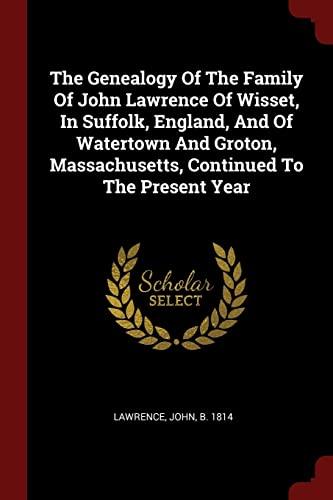 The Genealogy of the Family of John