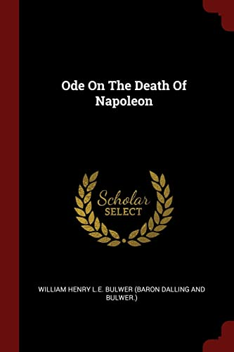 9781376208795: Ode On The Death Of Napoleon