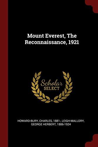 9781376219265: Mount Everest, The Reconnaissance, 1921