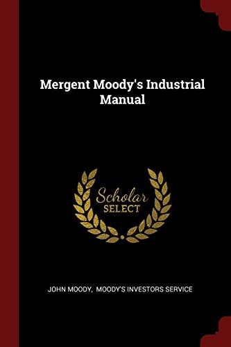 9781376264418: Mergent Moody's Industrial Manual
