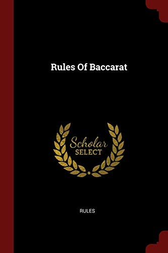 9781376292374: Rules Of Baccarat