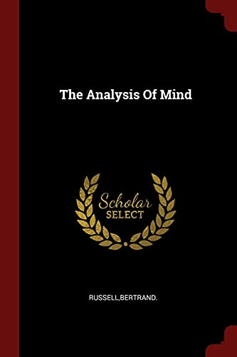 9781376326178: The Analysis Of Mind