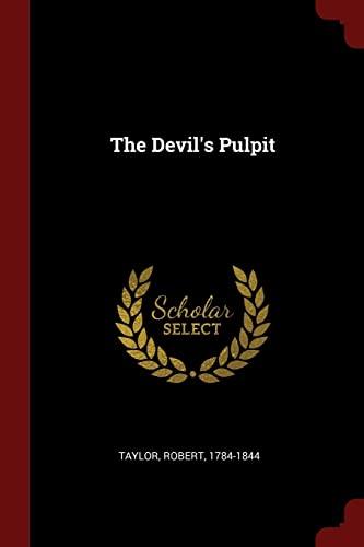 9781376339031: The Devil's Pulpit