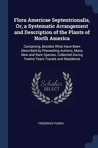 9781376436181: Flora Americae Septentrionalis, Or, a Systematic Arrangement and Description of the Plants of North America: Containing, Besides What Have Been During Twelve Years Travels and Residence