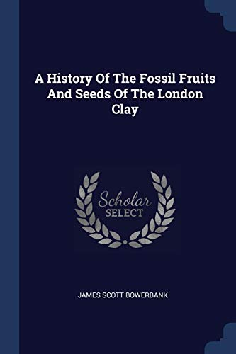 9781377019956: A History Of The Fossil Fruits And Seeds Of The London Clay