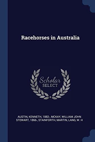 Racehorses in Australia: Austin, Kenneth