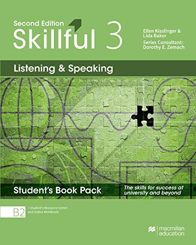 9781380010704: SKILLFUL 3 Listen&Speak Sb Prem Pk 2nd [Lingua inglese]