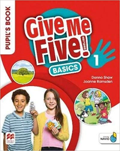 9781380013491: Give Me Five! Level 1 Pupil's Book Basics Pack