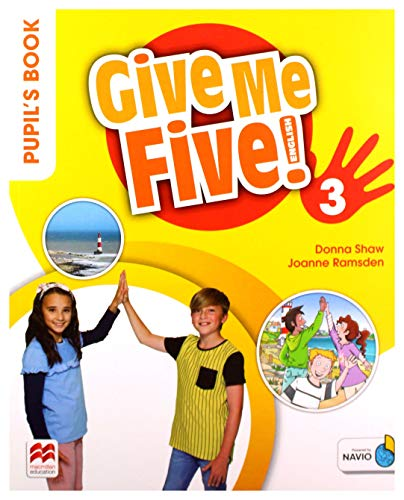 9781380013514: Give Me Five! Level 3 Pupil's Book Pack [Lingua inglese]