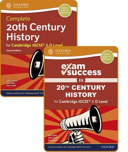 9781382009782: Complete 20th Century History for Cambridge IGCSE® & O Level: Complete 20th century history for Cambridge IGCSE & 0 level. Student book. Per le ... online. Con Libro: Exam success guide