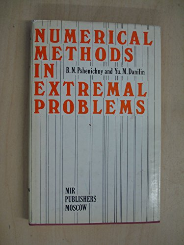 9781399867313: Numerical Methods in Extremal Problems.